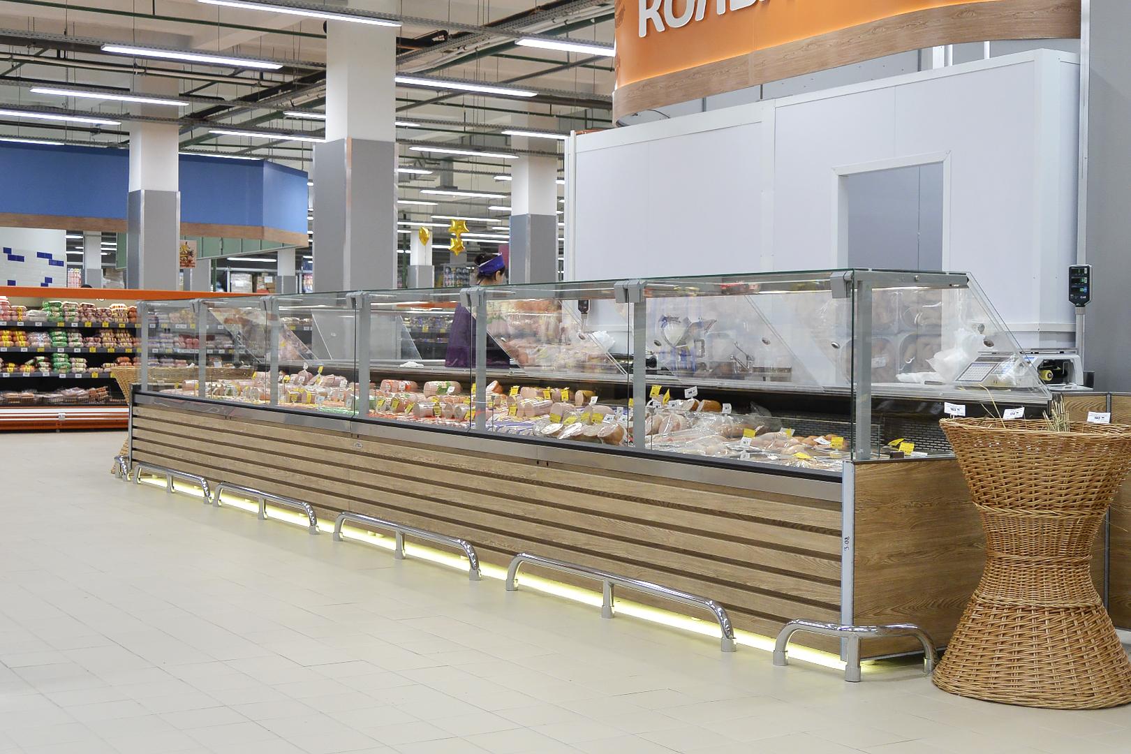 Супермаркет Тележка