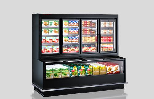Вітрини для заморожених продуктів Alaska combi MHV 110 LT D/C 200-DLM