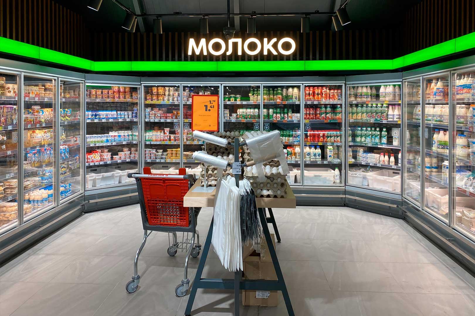 Multideck cabinets Indiana MV MT D M
