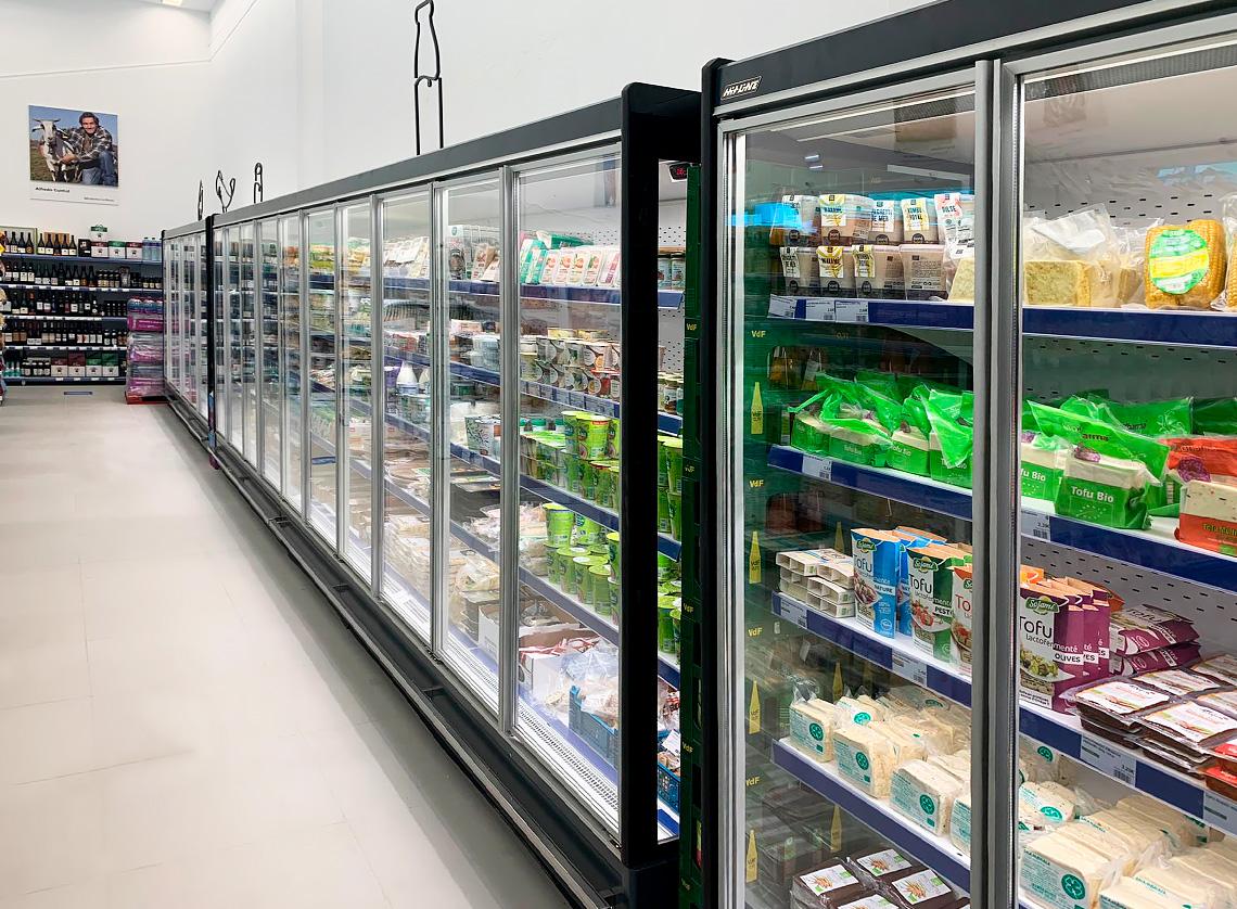 Multideck cabinets Indiana MV 080 MT D 205-DLM