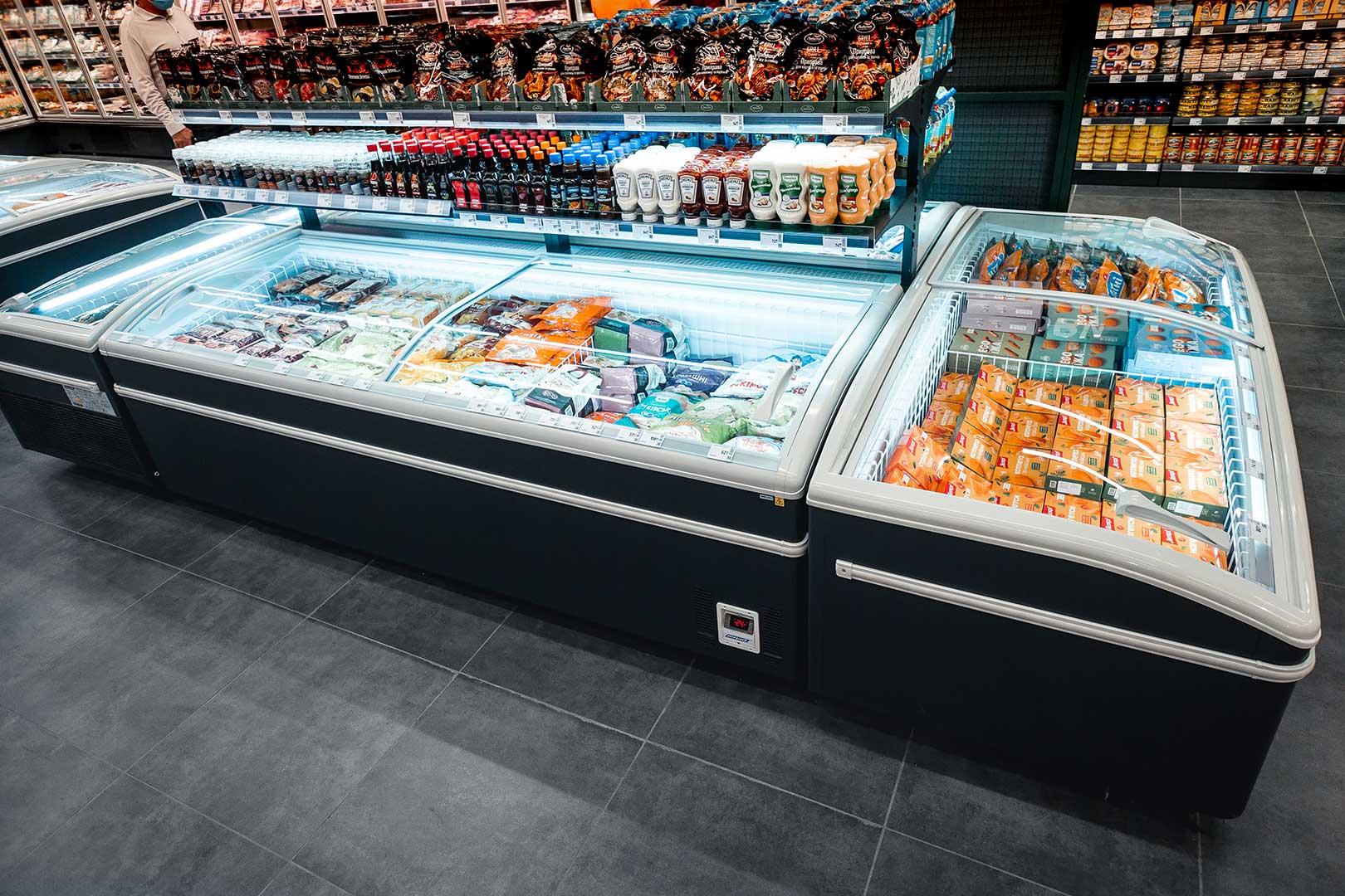 Витрины для замороженных продуктов Super AH 092 LT C 079-SLA, Super AH 092 LT C 079-SLA-TL