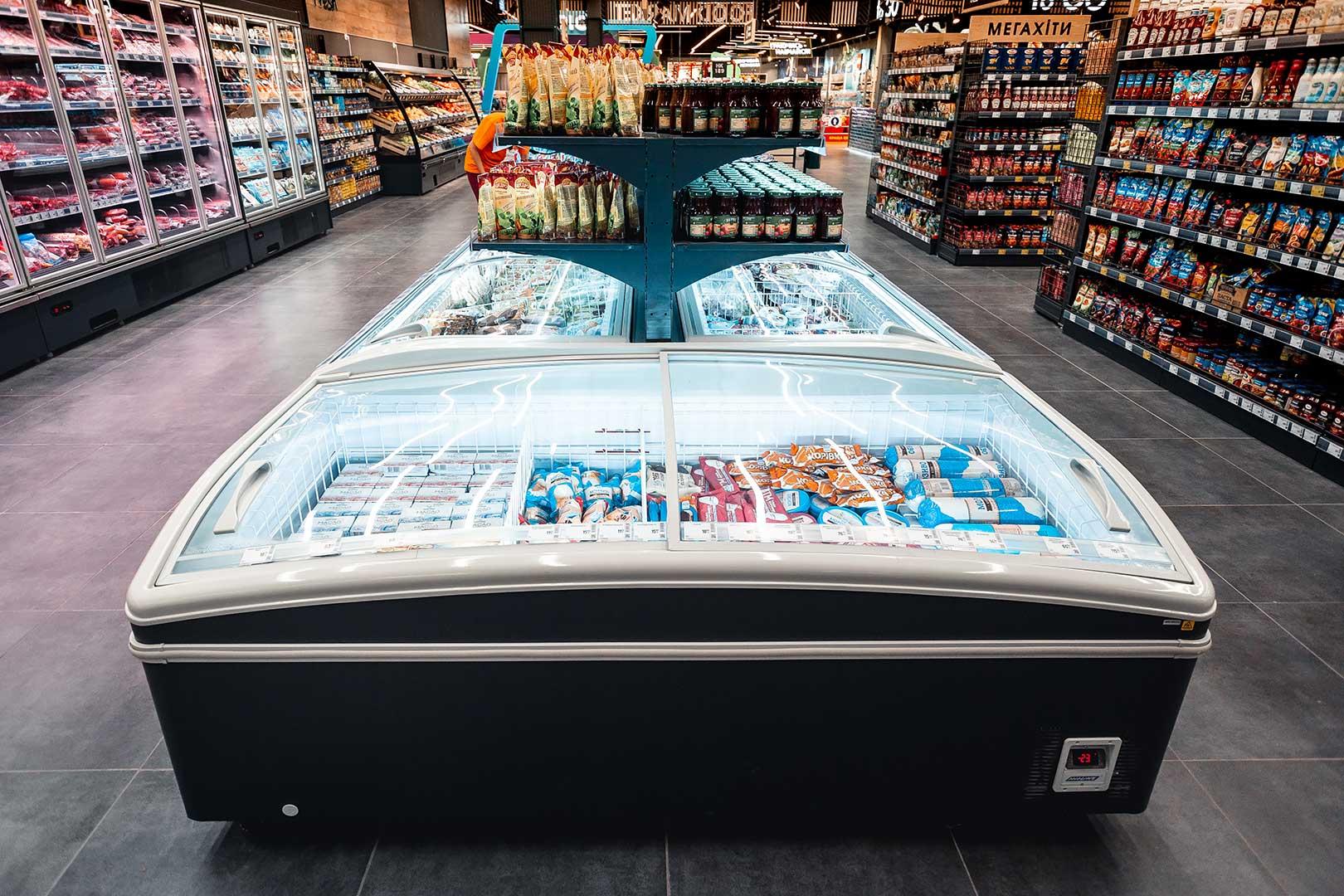 Вітрини для заморожених продуктів Super AH 092 LT C 079-SLA, Super AH 092 LT C 079-SLA-TL