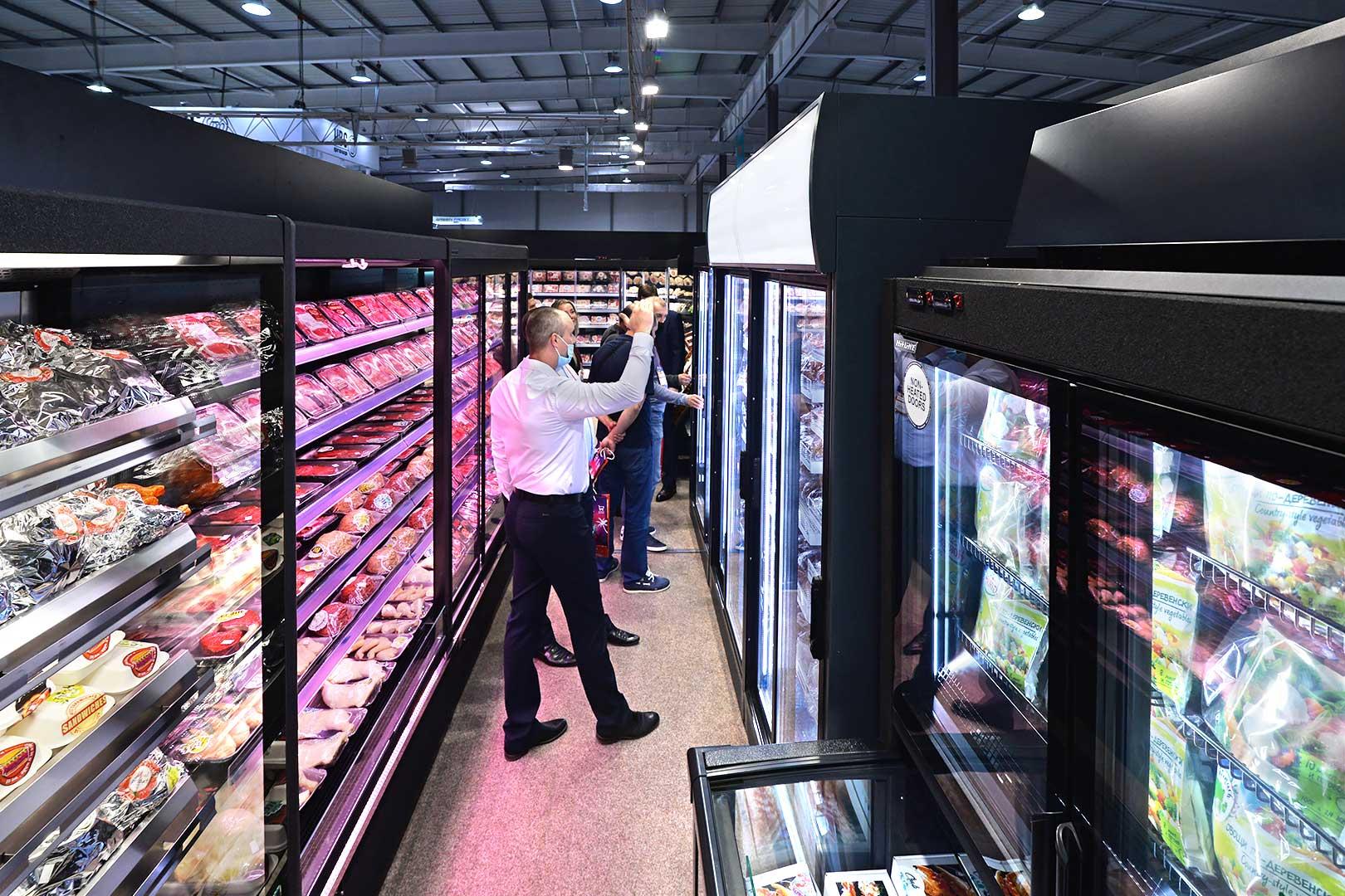 Multideck cabinets Indiana medium AV 066 MT O 210-DLA, Indiana medium AV 066 MT D 210-DLA, Indiana medium NV 066 heat O 210