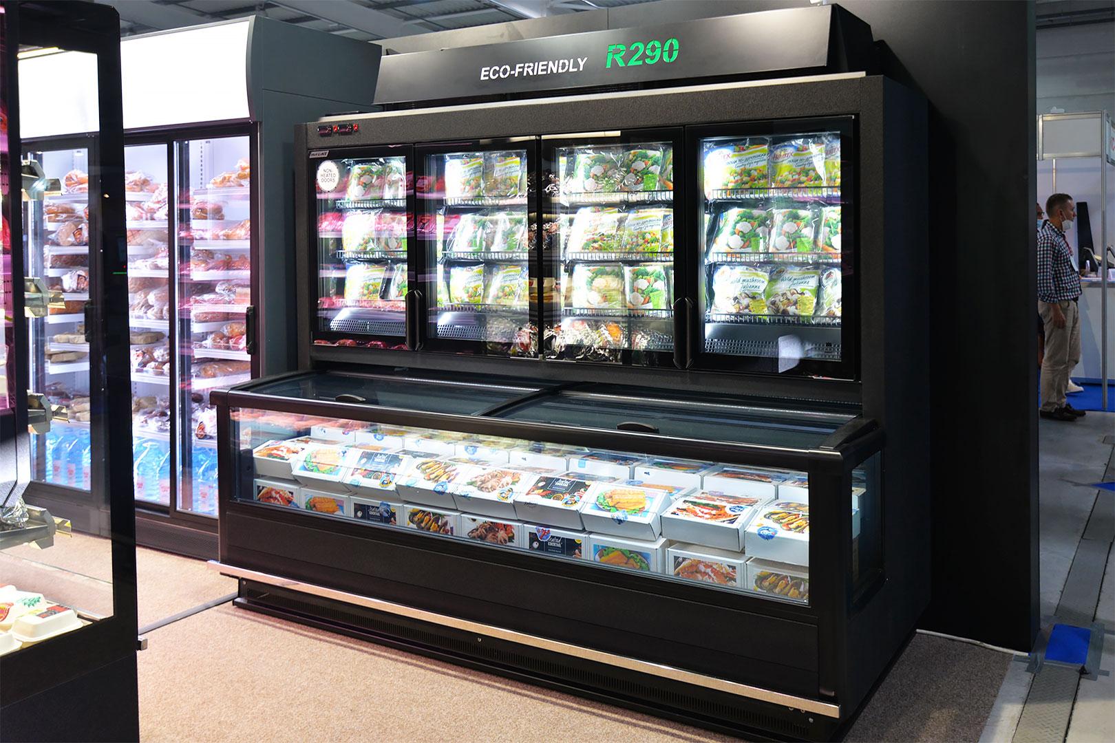 Вітрина для заморожених продуктів Alaska combi MHV 110 LT D/C 200-DLM