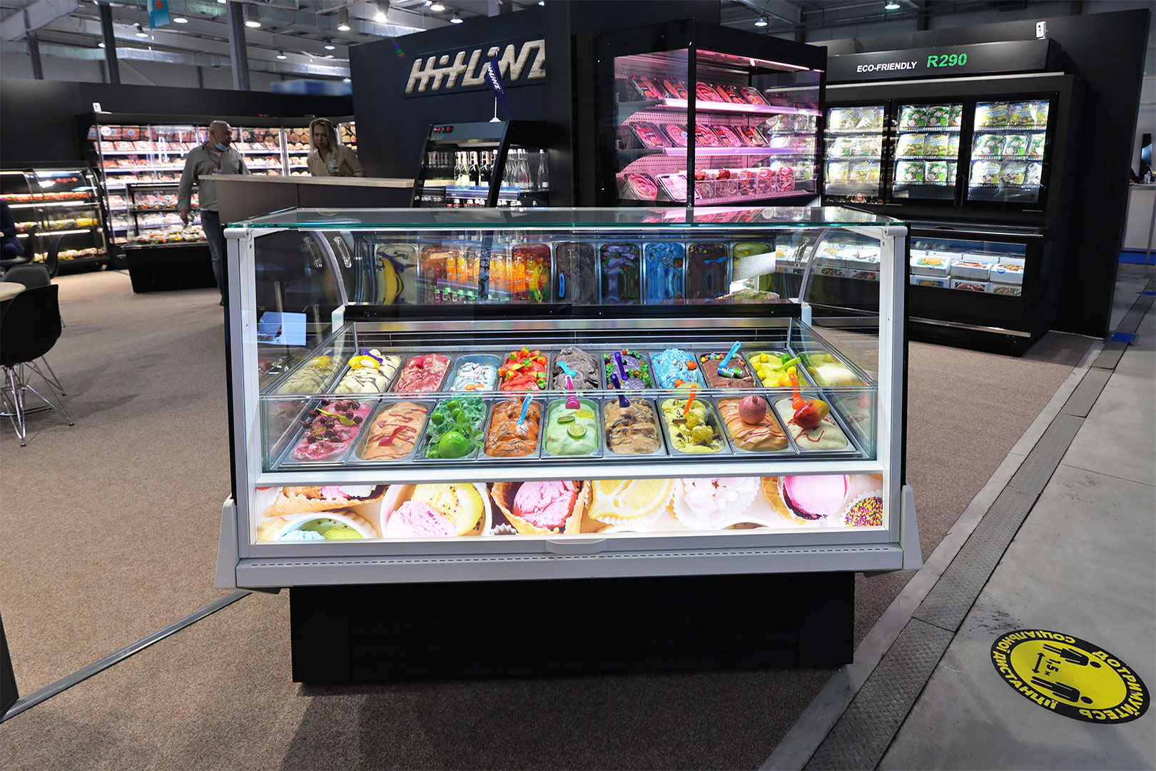 Спеціалізована вітрина для продажу м'якого морозива Tennessee AC 110 ice cream PS 172-DLA