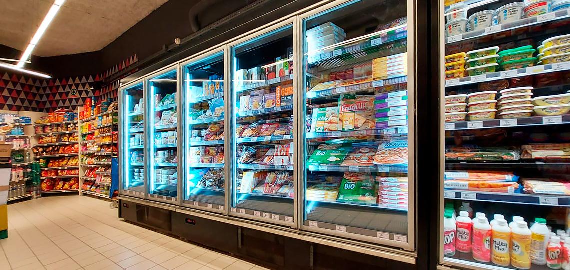 Витрины для замороженных продуктов Indiana medium AV 085 LT D 210-DLA