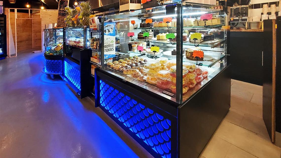 Кондитерская витрина Missouri MC 120 patisserie PS 140-DLM, витрины Missouri MC 120 salads PP 130-DBM, Missouri MC 120 accent PS/P 130-DBM