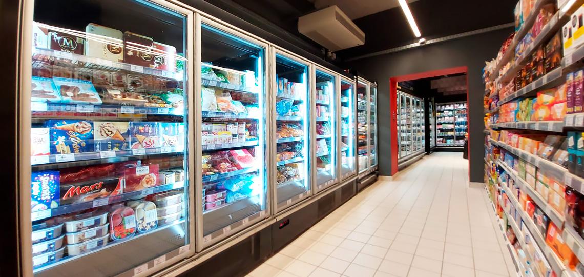 Frozen foods units Indiana medium AV 085 LT D 210-DLA