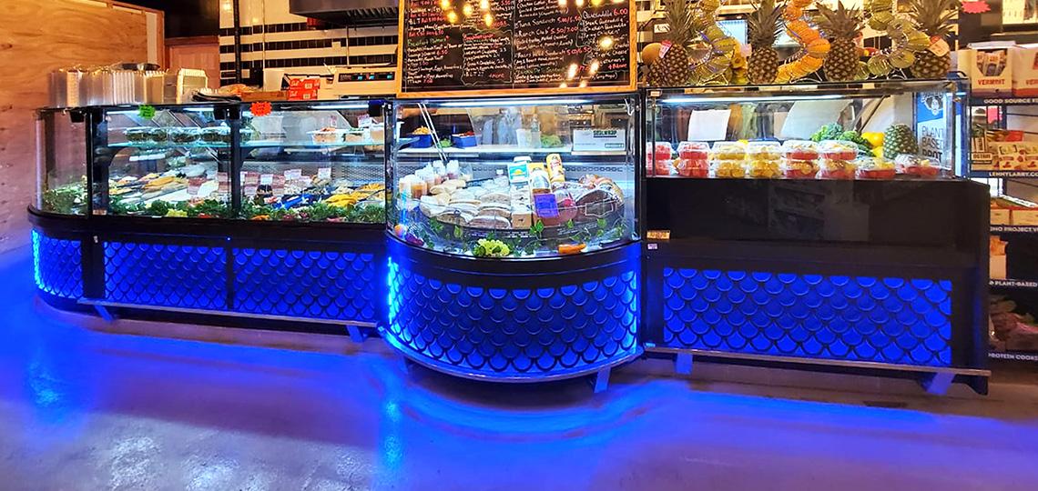 Counters Missouri MC 120 deli PS 130-DBM, Missouri MC 120 accent PS/P 130-DBM, Missouri MC 120 salads PP 130-DBM
