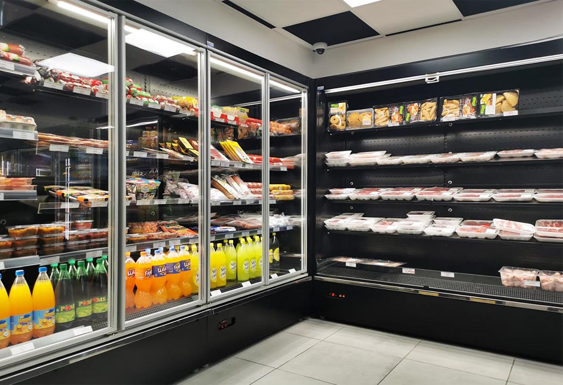 Multideck cabinets Indiana medium AV 070 MT O 210-DLM, Indiana medium AV 070 MT SD 210-DLM
