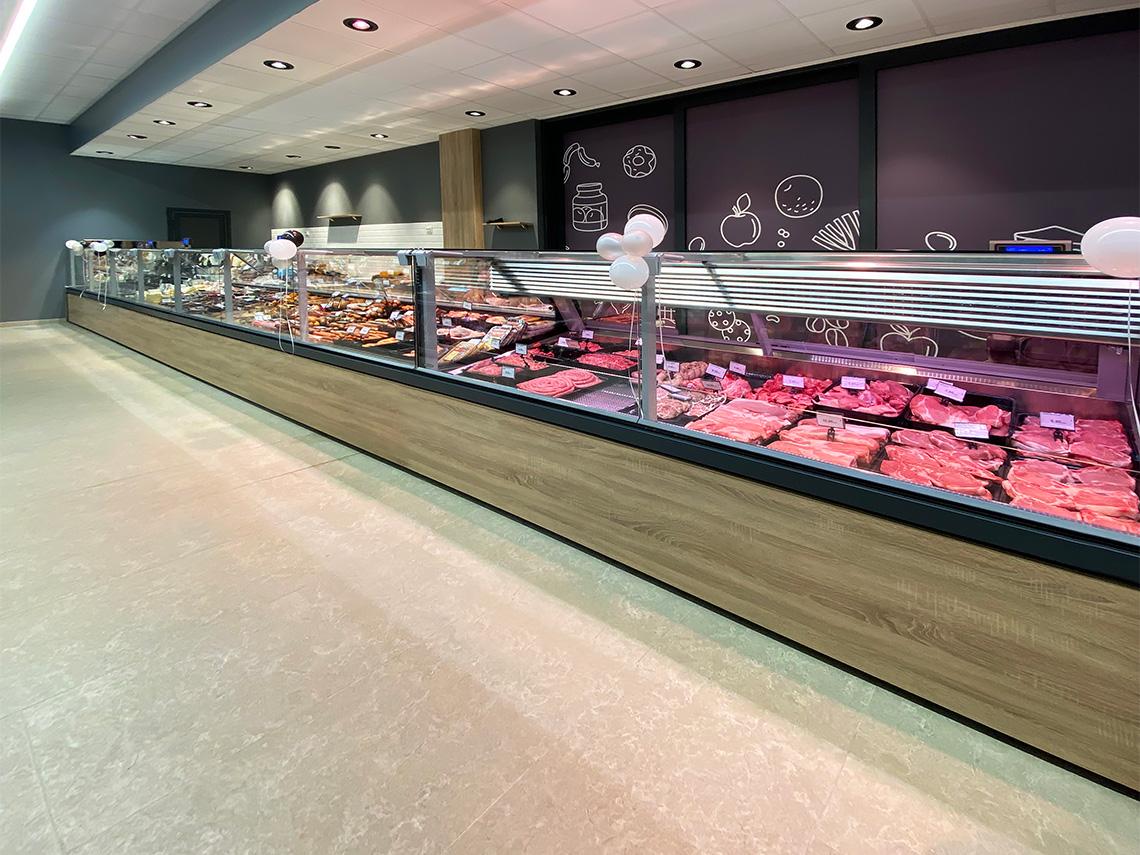 Counters Missouri MC 120 deli PS 130-DBM, specialized units for meat sales Missouri MC 120 meat PS 130-SLM