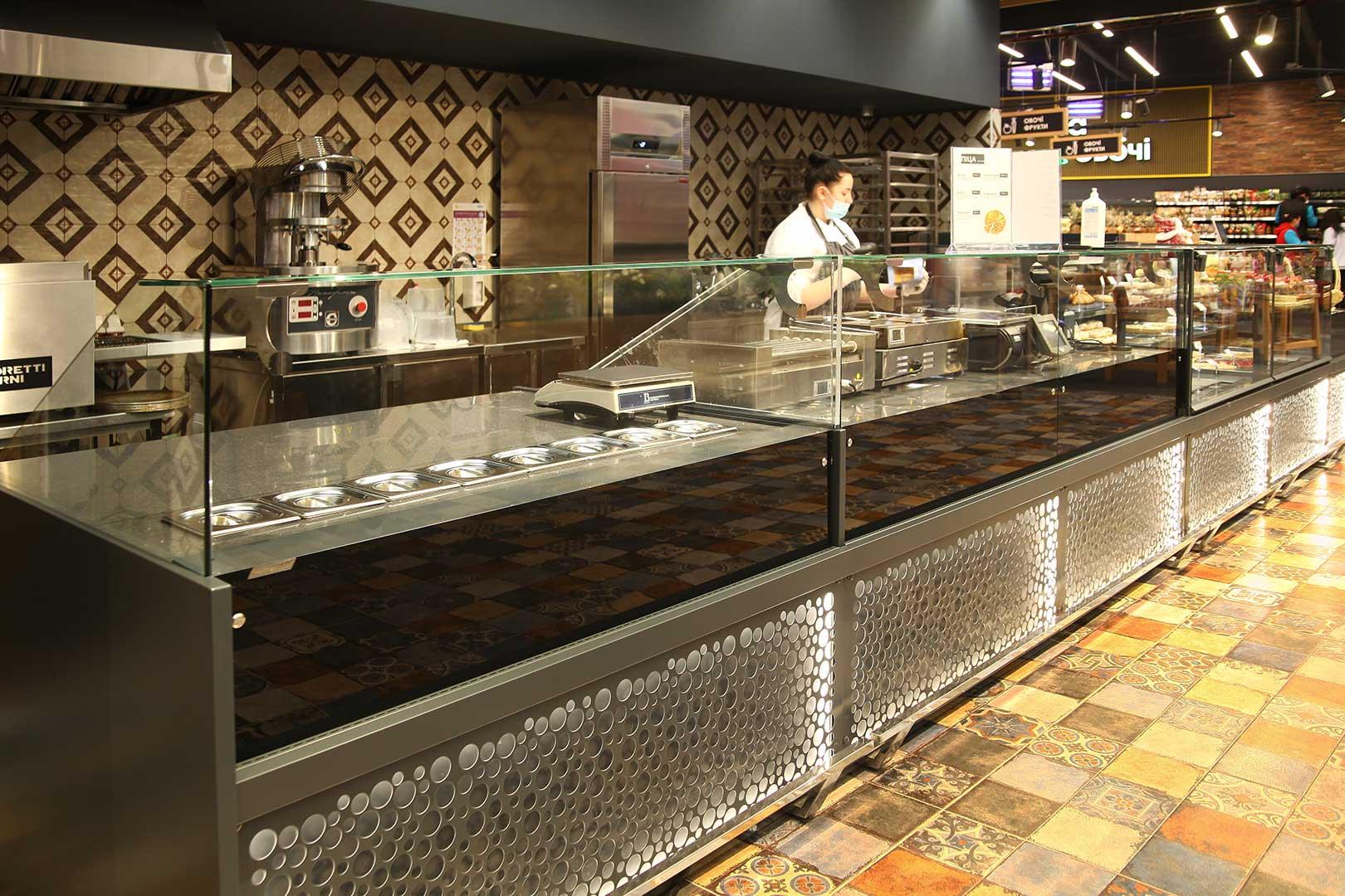 Counters Missouri MC 120 sushi/pizza L 130-DBM, Missouri NC 120 L 130