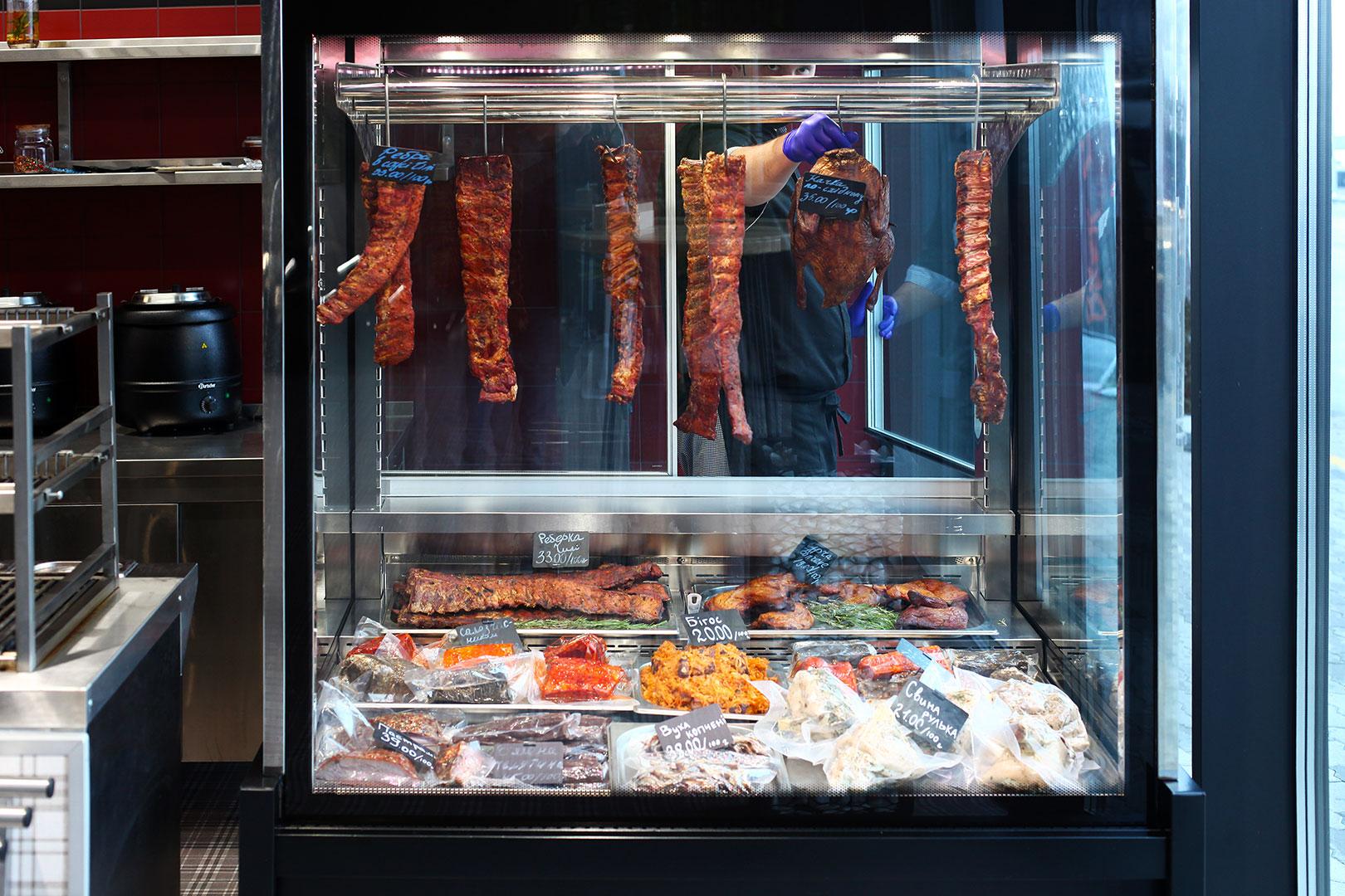 Specialized units for meat sales Missouri MC 120 crystal S 203-DLA