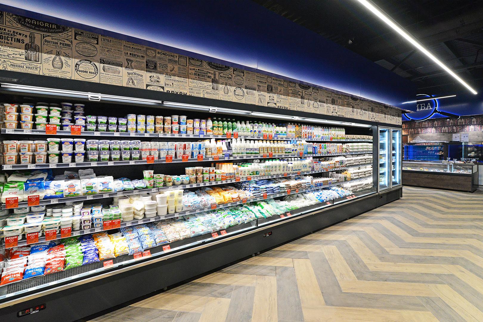 Multideck cabinets Indiana medium AV 085 MT O 210-DLM