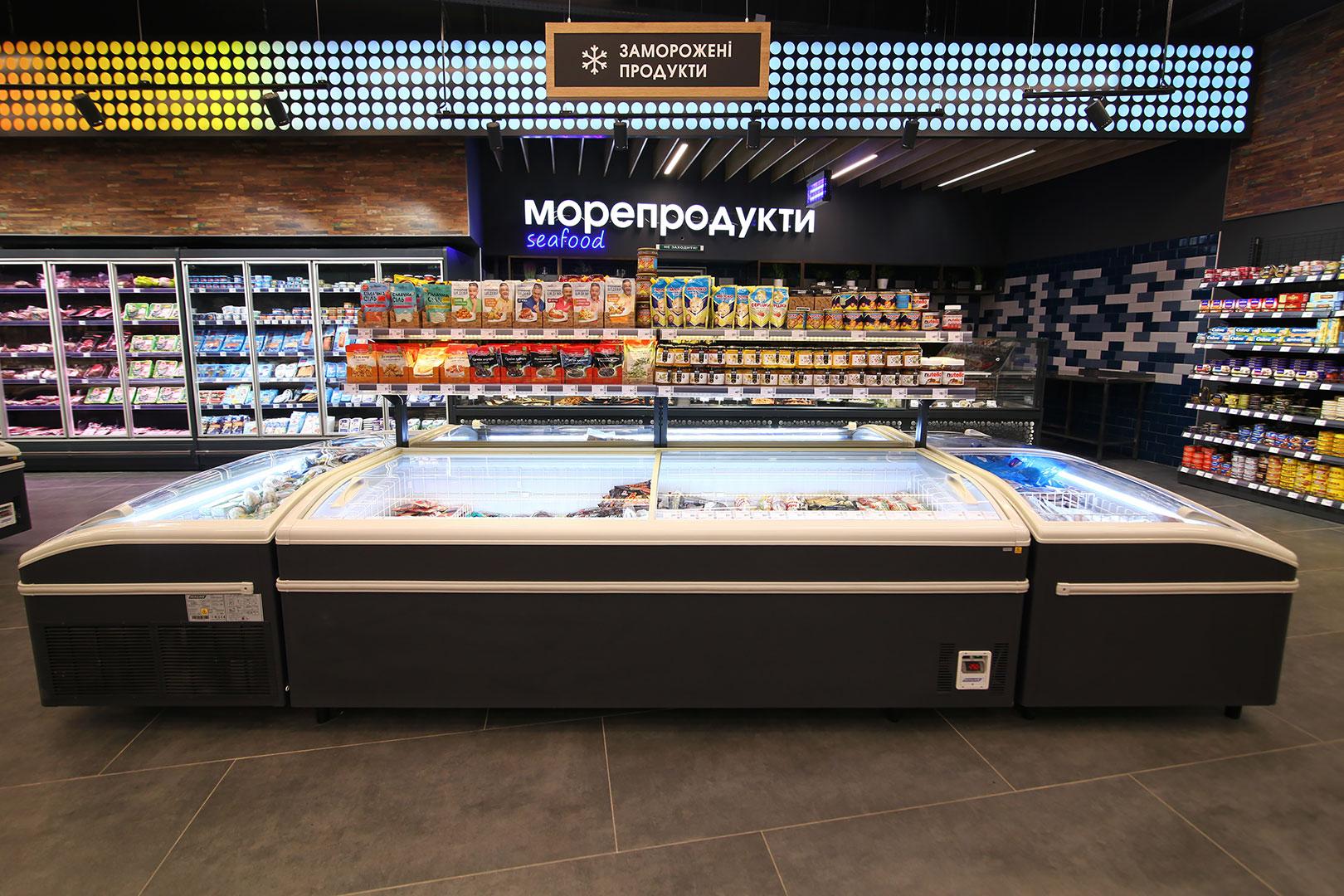 Витрины для замороженных продуктов Super AH 092 LT C 079-SLA
