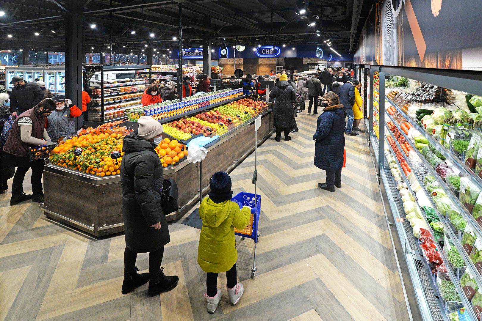 Specialized units for vegetables and fruit sales Missouri VF MC 110 VF self 110-DBM, Indiana MV 080 FV O 205-DLM
