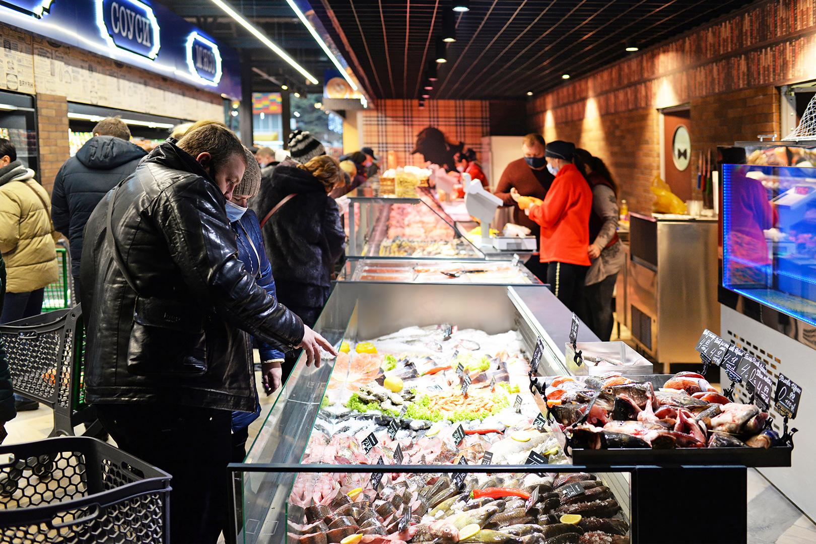 Специализированные витрины для продажи рыбы и морепродуктов Missouri MC 120 fish self 086-SLA, Missouri MC 120 ice self 086-SLM, витрины Missouri MC 120 deli PS 130-DBM