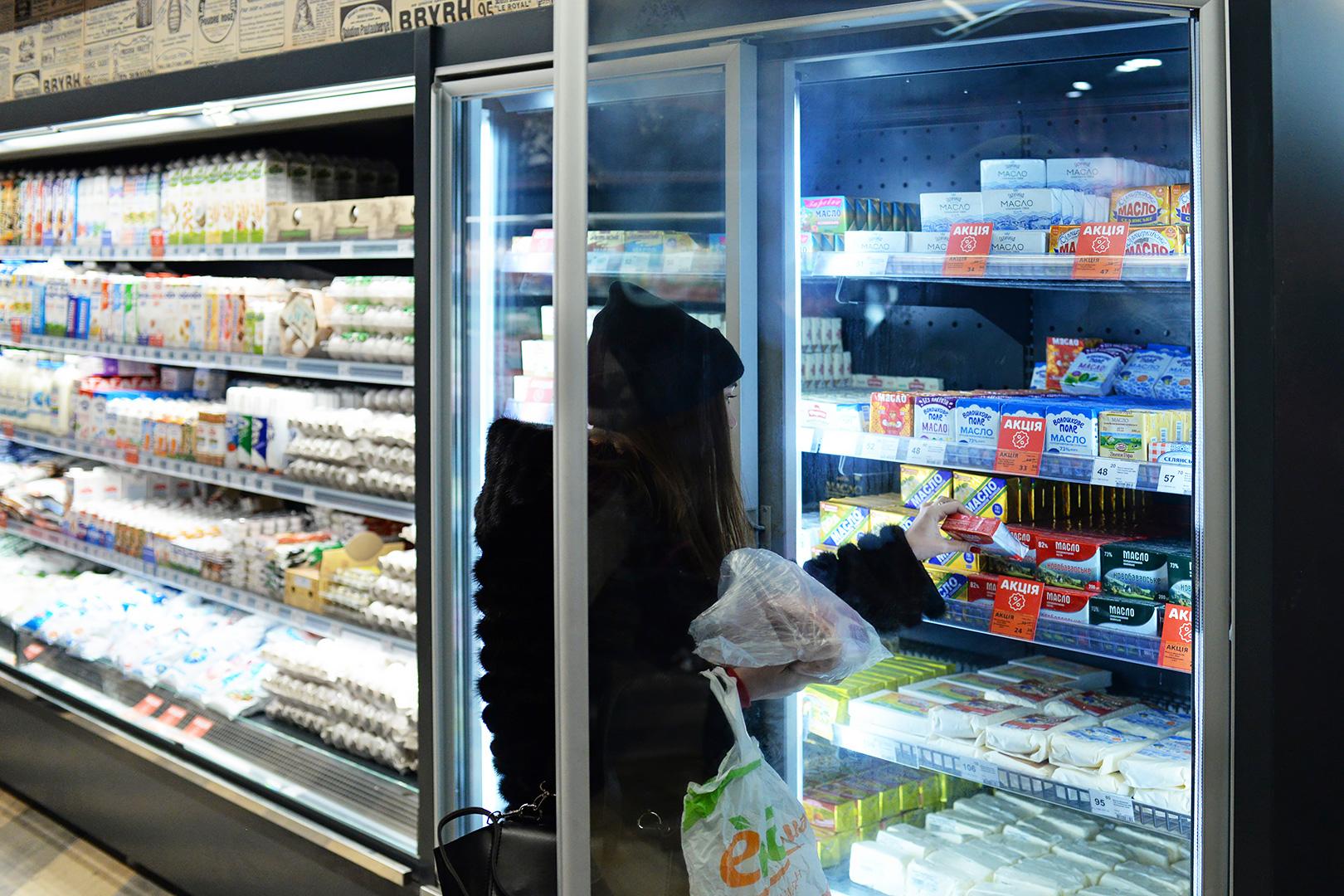 Пристінні вітрини Indiana medium AV 085 MT O 210-DLM, вітрина для заморожених продуктів Indiana medium AV 085 LT D 210-DLA