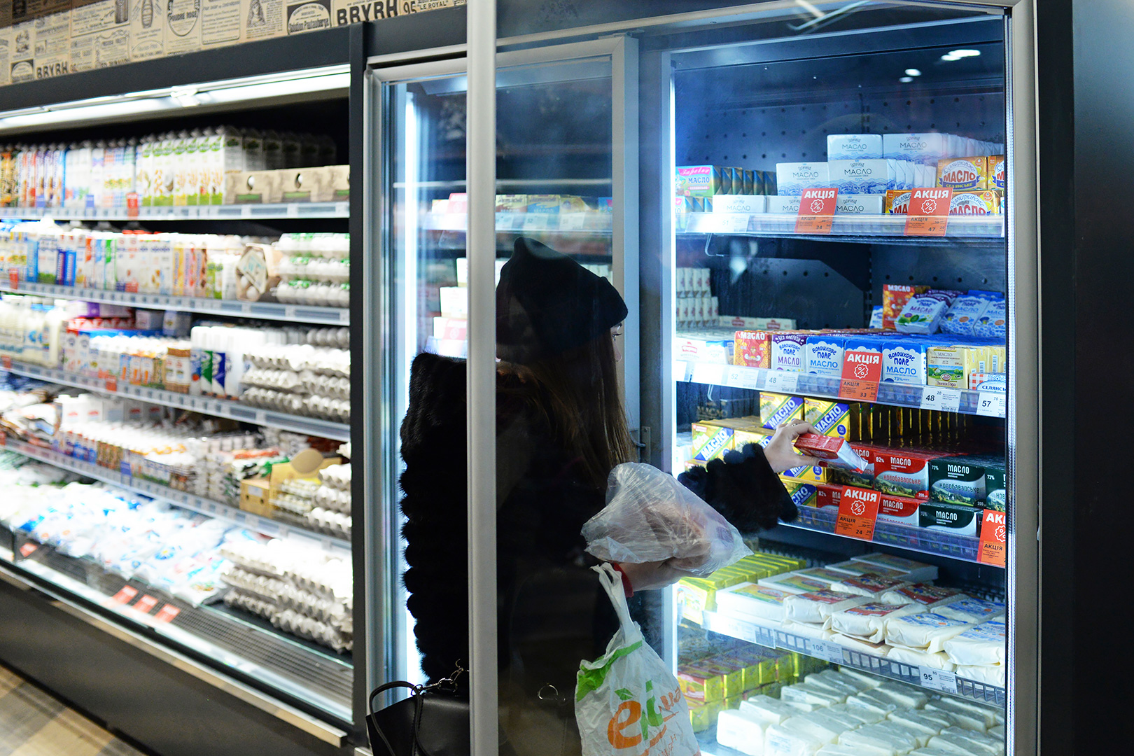 Пристенные витрины Indiana medium AV 085 MT O 210-DLM, витрина для замороженных продуктов Indiana medium AV 085 LT D 210-DLA