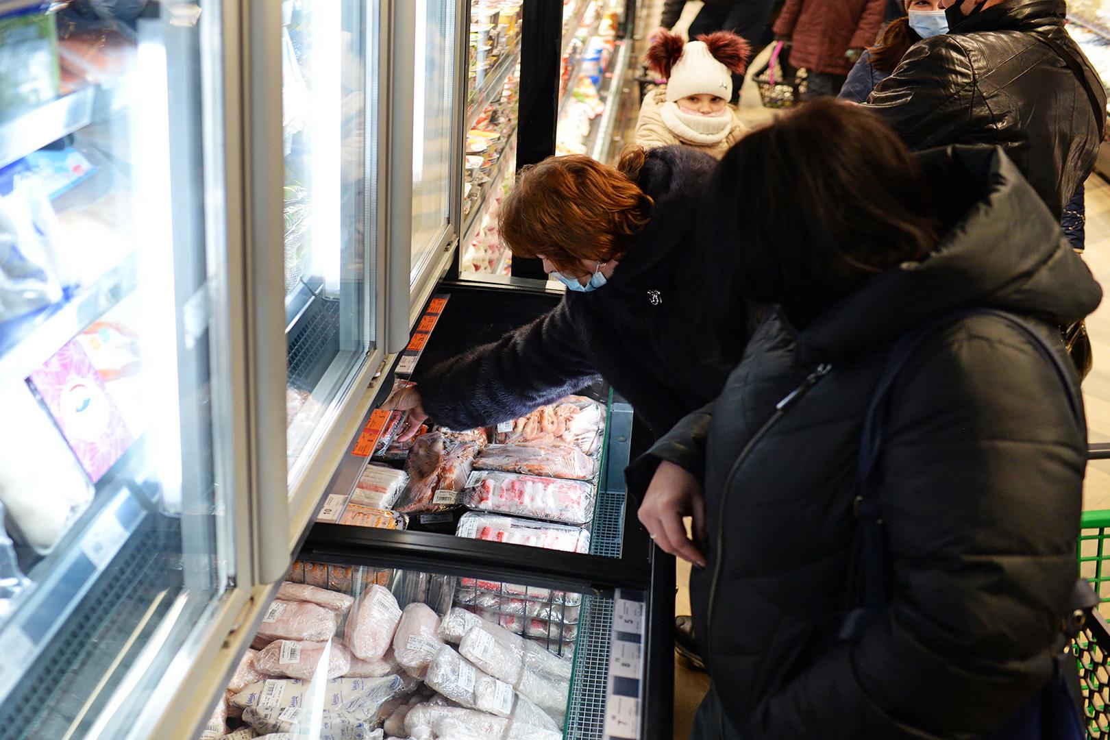 Вітрини для заморожених продуктів Alaska combi 2 MD MHV 110 LT D / C 220-DLM