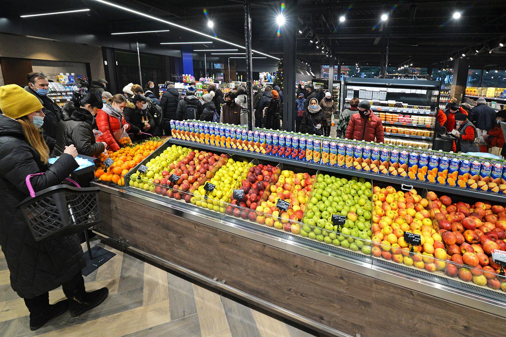 Специализированные витрины для продажи овощей и фруктов Missouri VF MC 110 VF self 110-DBM