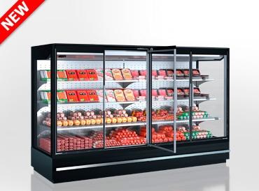 Холодильні пристінні вітрини Indiana MV 080 MT D 160-DLM