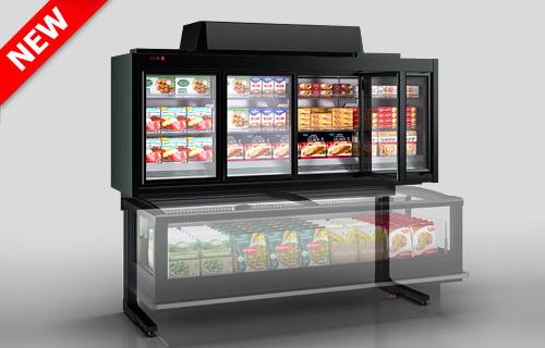 Вітрини для заморожених продуктів Kansas VАV 076 HLT D