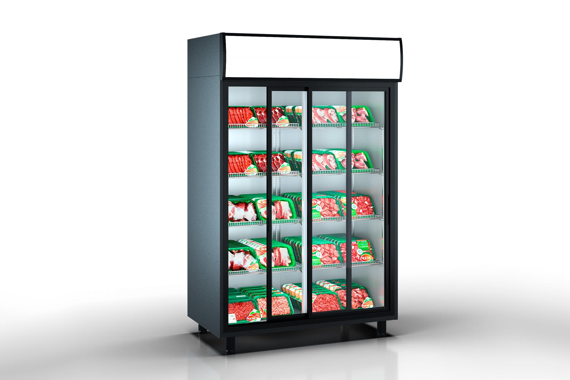 Refrigerated cabinets Kansas 5 VA1SG 070 HT SD 210-D1200A-132
