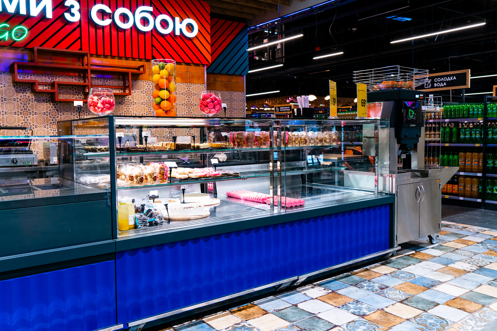 Refrigerated counters Мissouri MC 120 patisserie OS 130-DLM-250