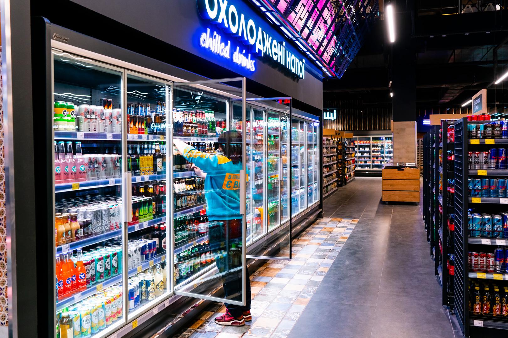 "Refrigerated multideck cabinets ""Indiana MV 080 MTD"""