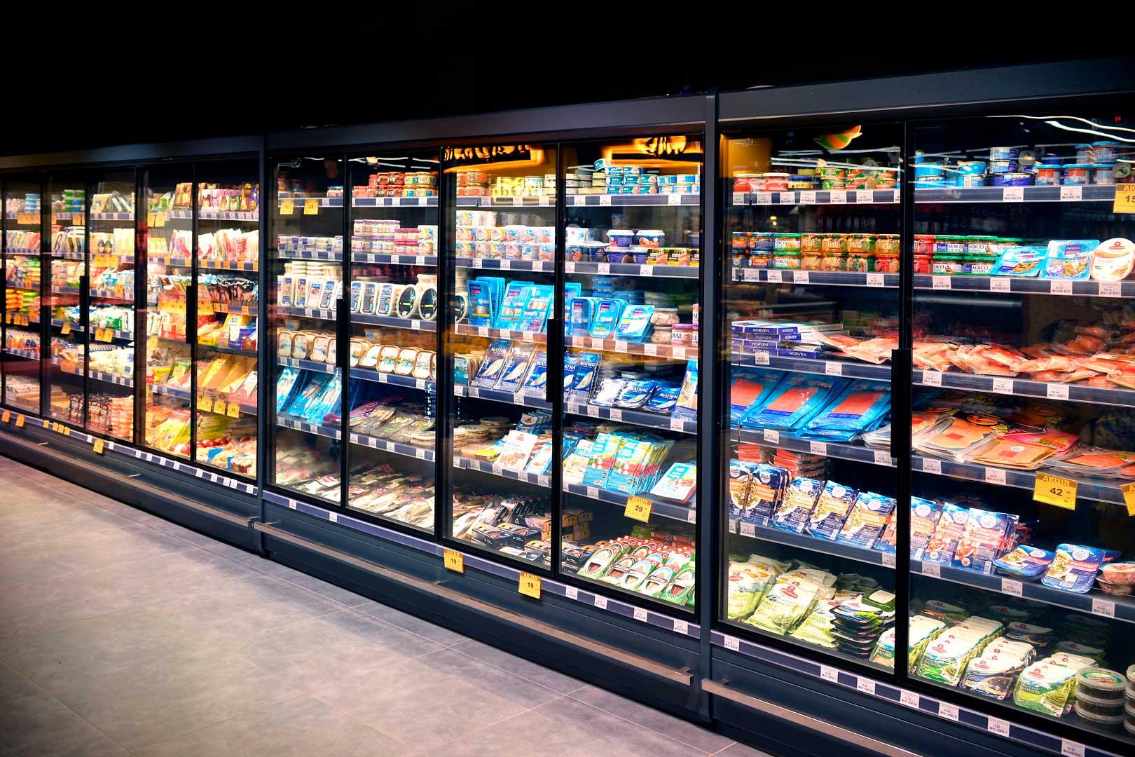 Холодильні пристінні вітрини Indiana MV 090 MT D 205-DLM