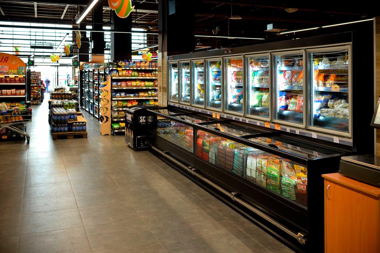 Комбінована холодильна вітрина Alaska combi 2 MD MHV 110 LT D/C 200-DLM