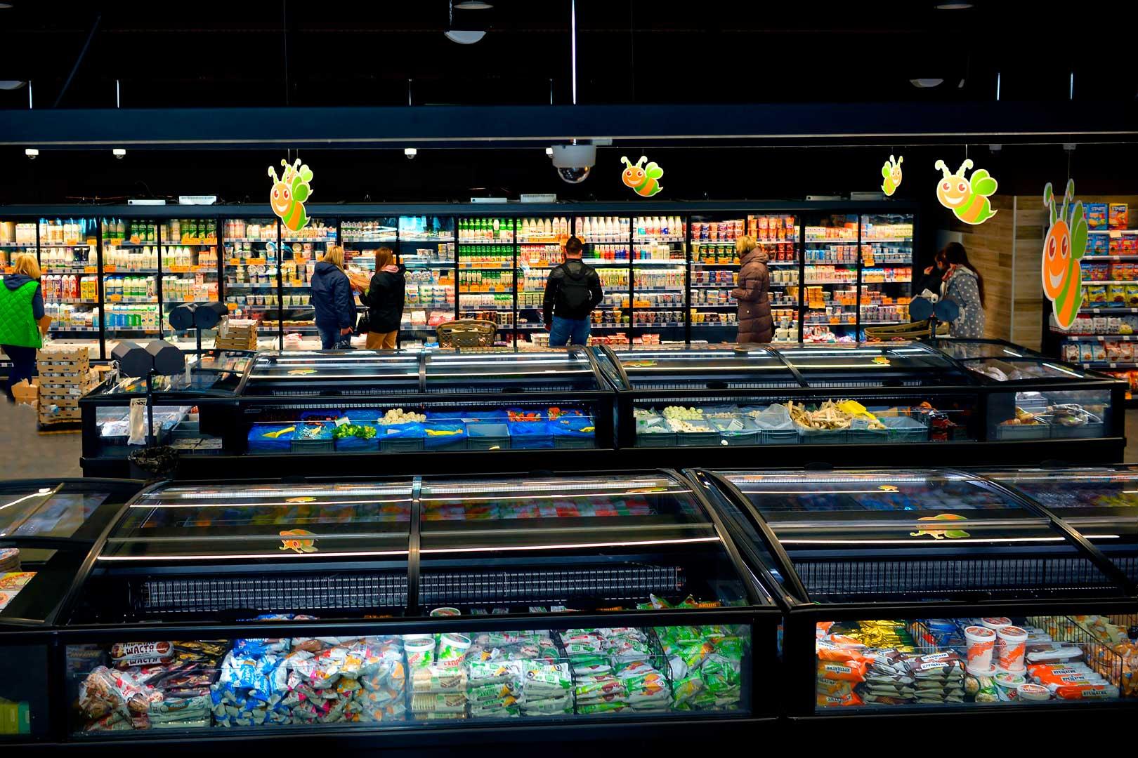 Frozen foods units Yukon AH 200 LT C 100