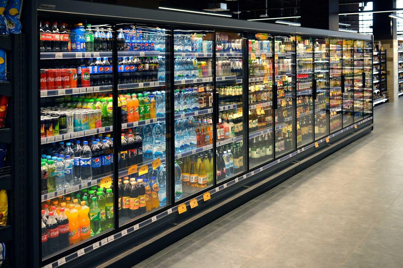 Refrigerated multideck cabinets Indiana MV 090 MT D 205-DLM