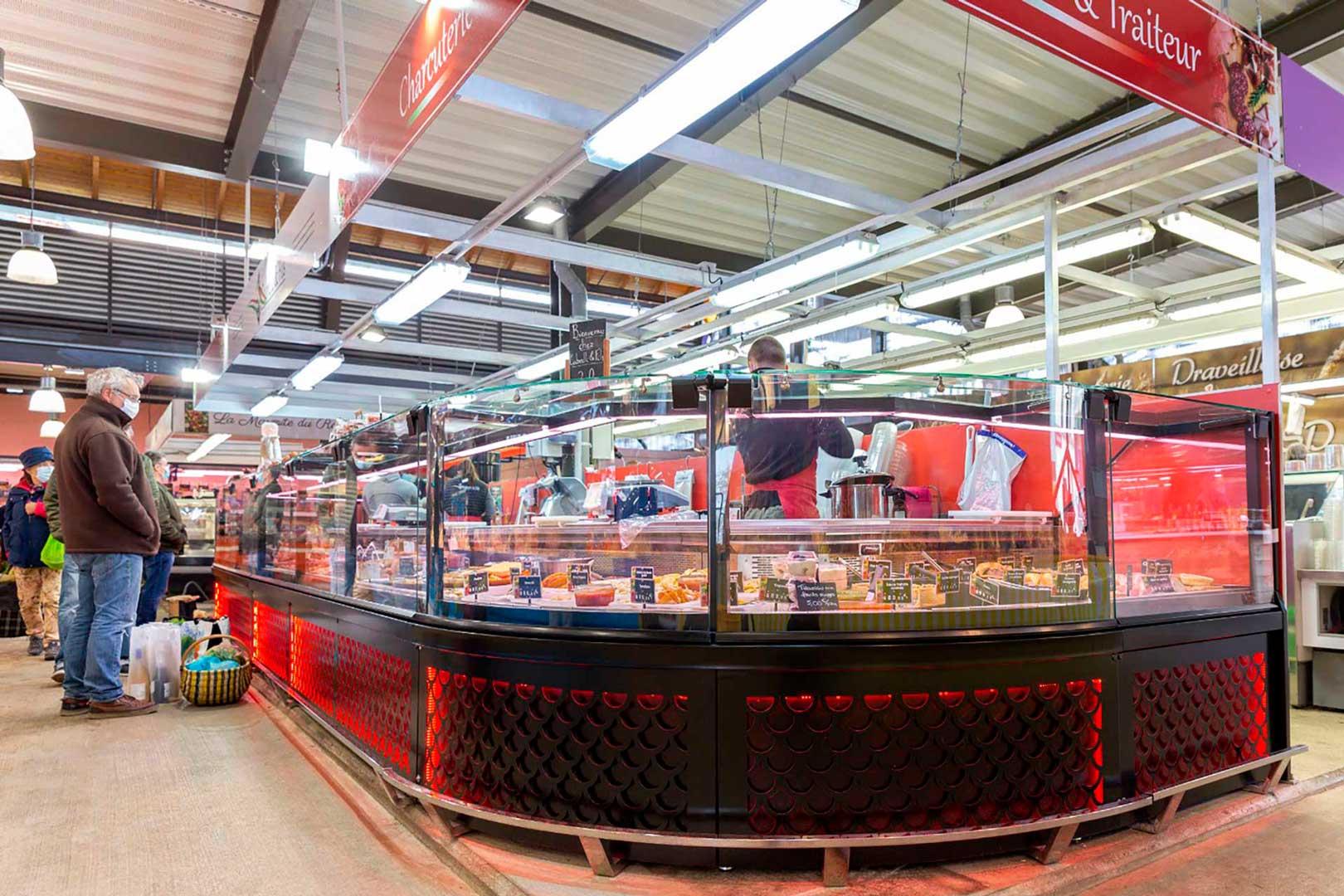 Refrigerated counters Missouri MC 120 M, minimarket CABRELLI & FILS in France