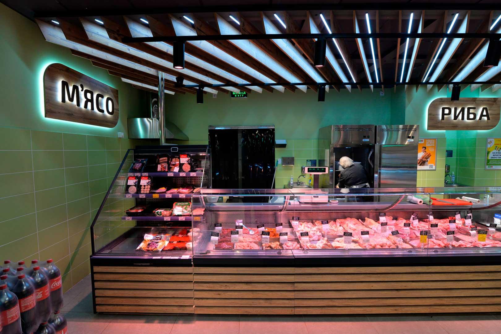 Холодильные витрины Missouri MC 120 deli OS 120-DBM, Мissouri.MC.120.cascade.self.160-DLM