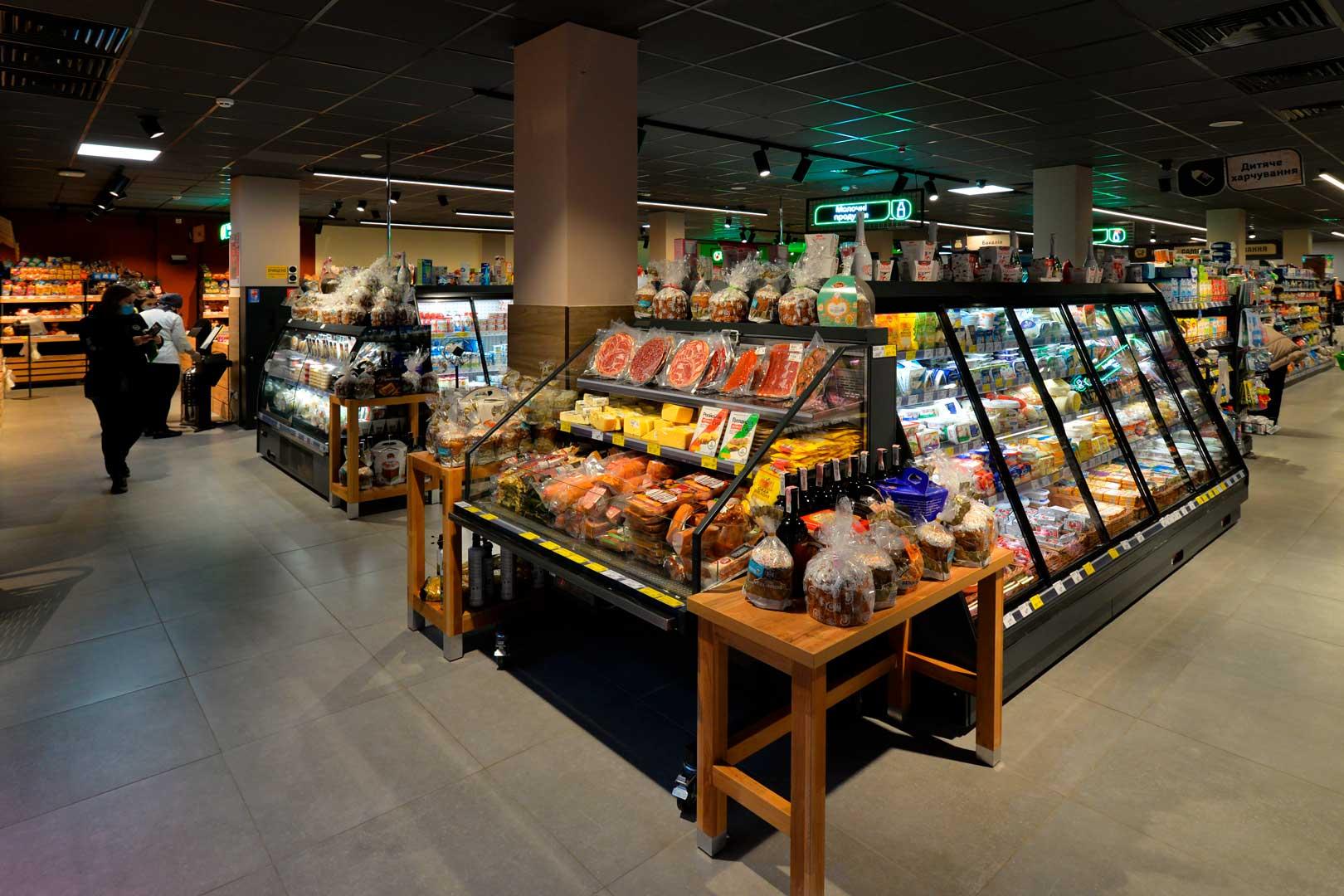 Refrigerated counters Missouri promo MC 100 deli self 140-DLA, Louisiana eco MSV 105 MT D 160-DLM