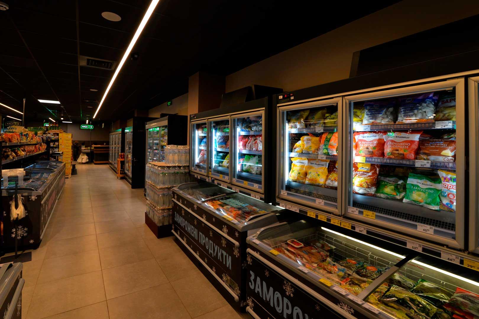 Frozen foods units Kansas VАV 076 HLT D