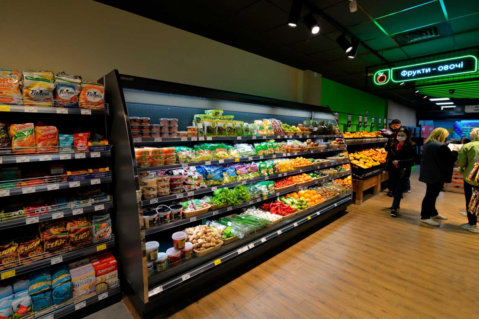 Refrigerated semi-vertical cabinets Indiana eco ASV 070 MT O 160-DLA