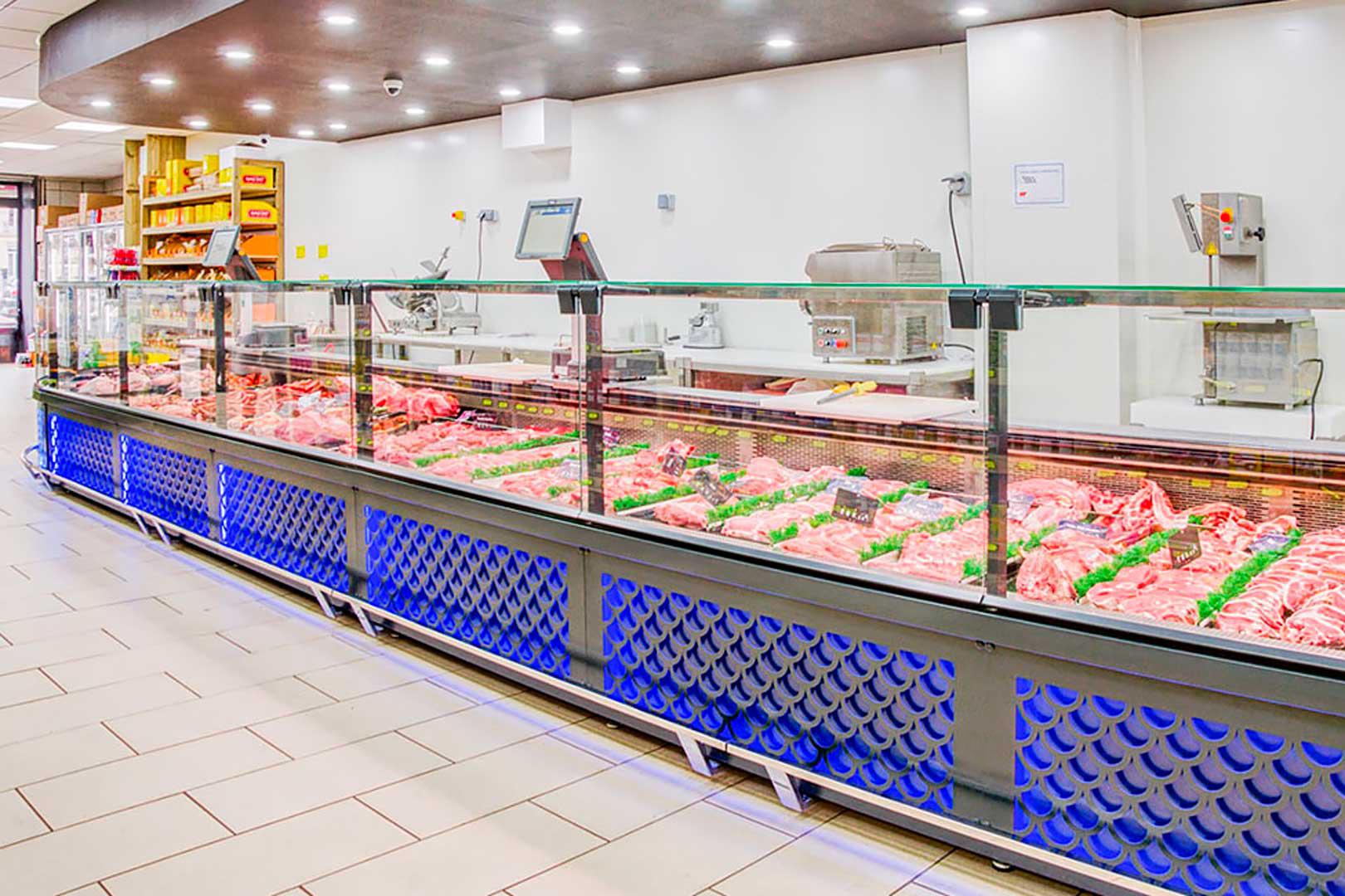 Холодильні вітрини Missouri MC 120 M, магазин PYRAMIDE у Франції