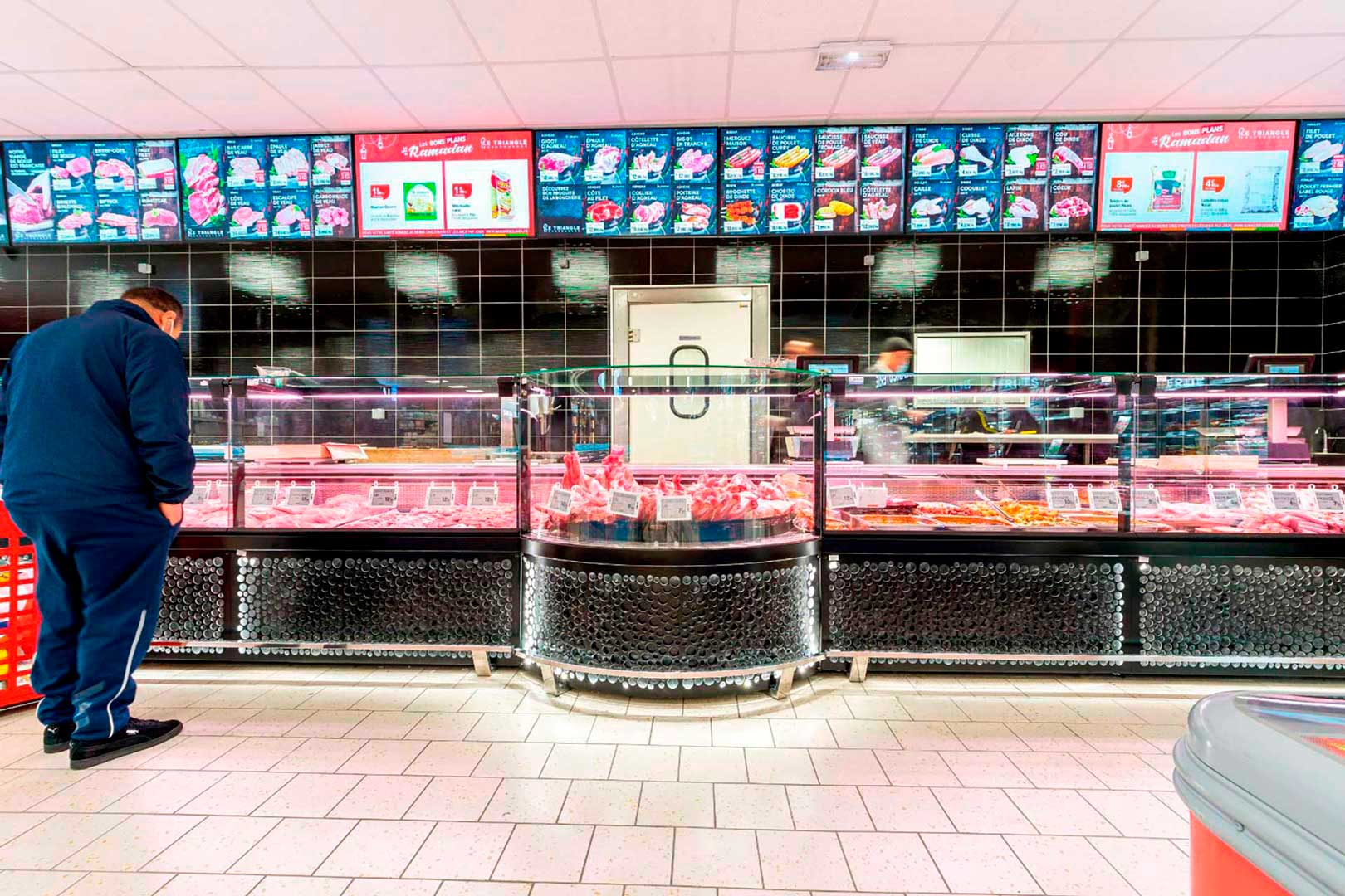 Refrigerated counters Missouri MC 120 M, minimarket LE TRIANGLE in France