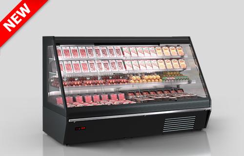 Refrigerated semi-vertical cabinets Louisiana eco ASV 115 MT D
