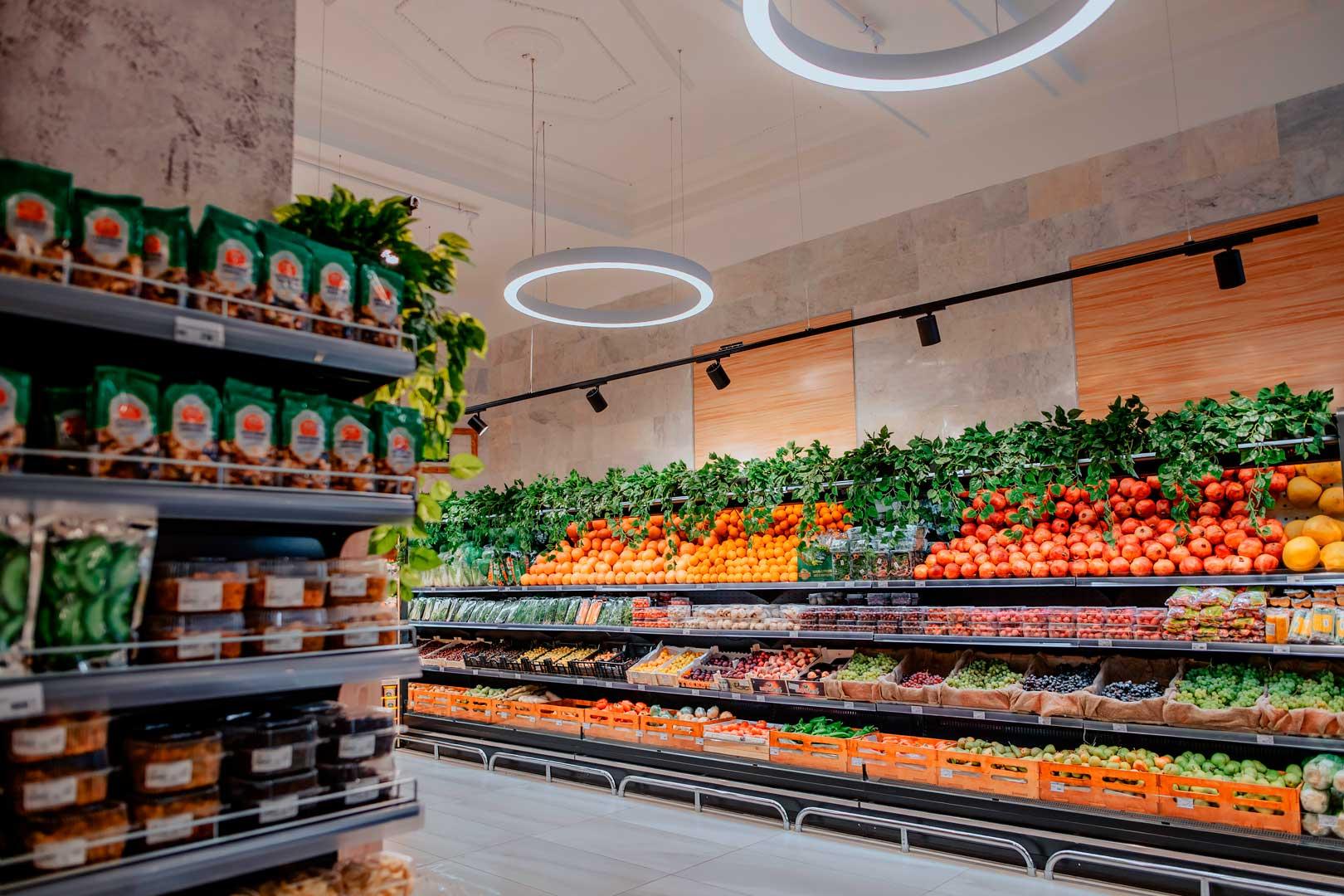 Спеціалізовані вітрини для продажу овочів та фруктів Louisiana FV MV 095/105/115 MT VF M