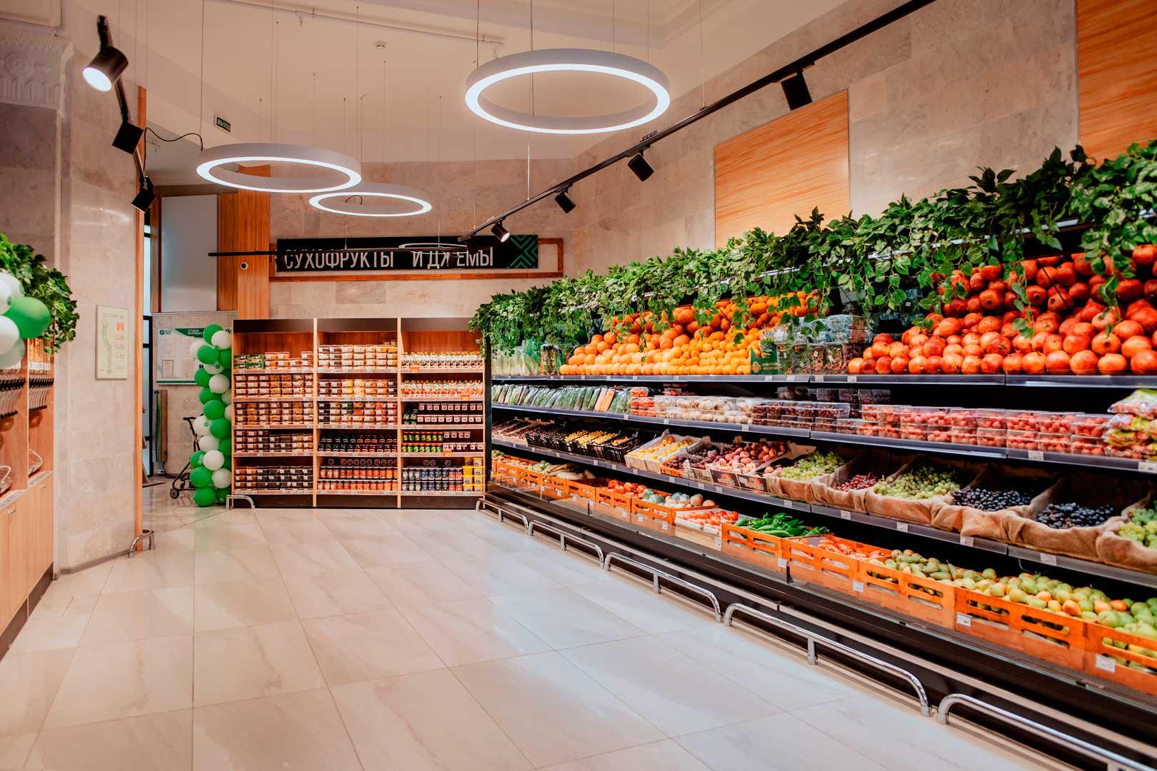 Специализированные витрины для продажи овощей и фруктов Louisiana FV MV 095/105/115 MT VF M