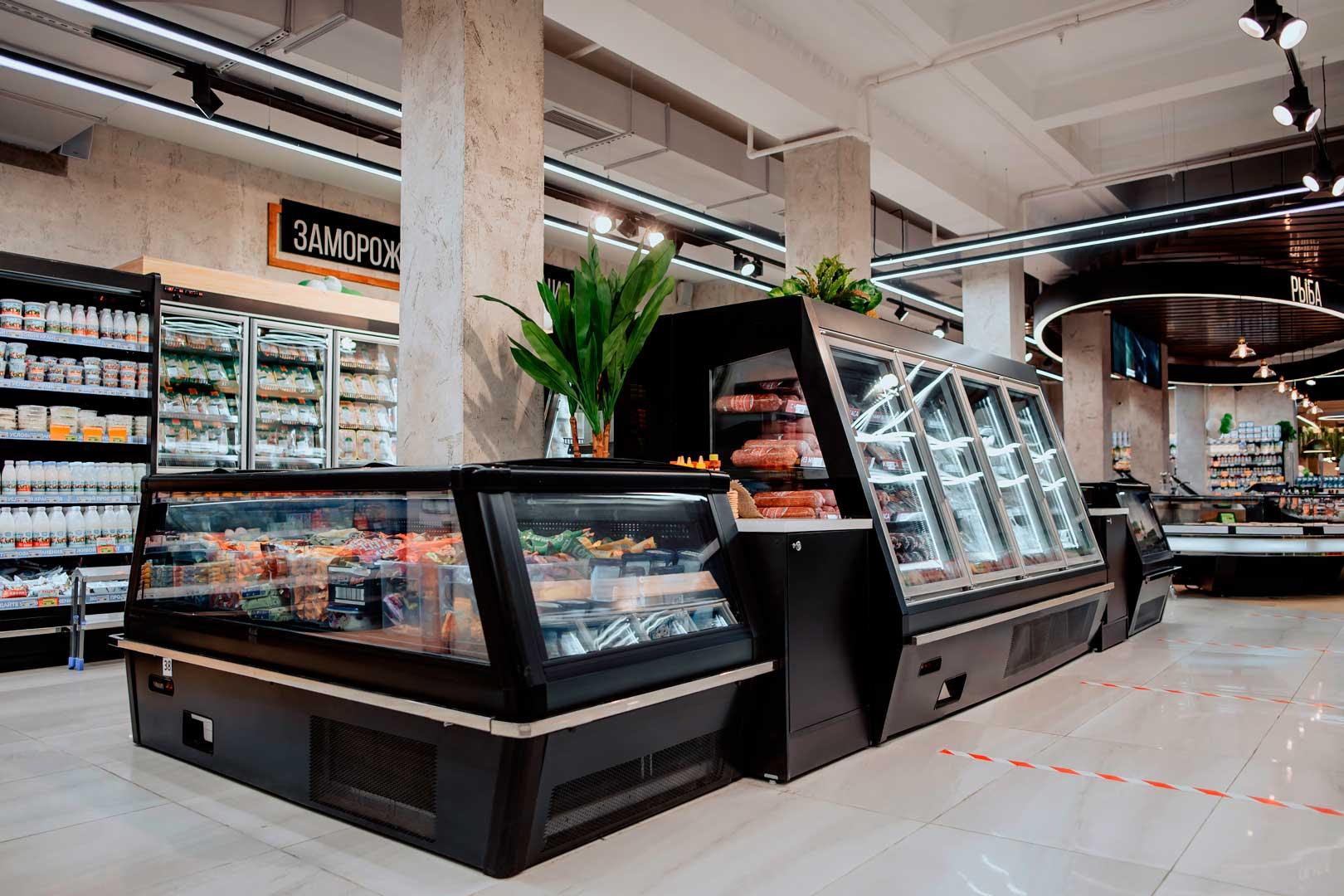 Витрины для замороженных продуктов Indiana eco ASV 100 LT D A