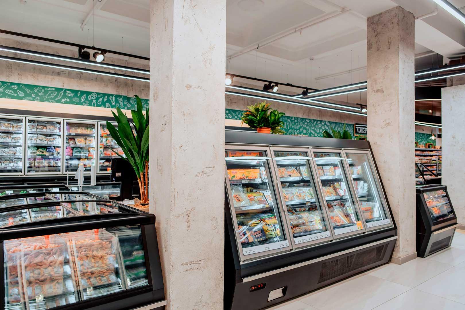 Витрины для замороженных продуктов Indiana eco ASV 100 LT D 160-DLA