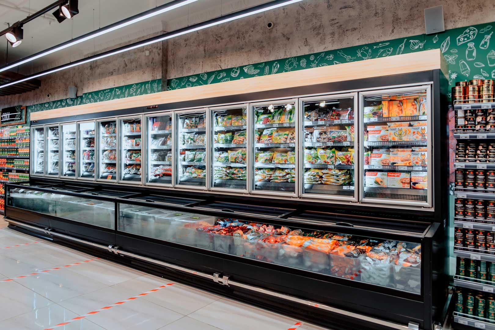 Витрины для замороженных продуктов Alaska combi MHV 110 LT DC M