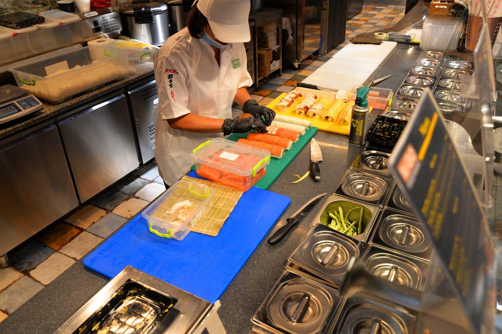 Спеціалізовані вітрини Мissouri МC 100 sushi/pizza L 130-DBM-150