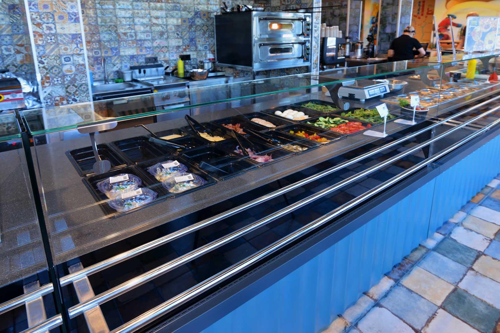 Спеціалізовані вітрини Мissouri МC 100 sushi/pizza L 130-DBM-150, Мissouri МC 100 salads L 130-DBМ-187